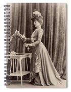 France Woman, C1895 Spiral Notebook