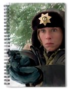 Frances Mcdormand As Marge Gunderson In The Film Fargo By Joel And Ethan Coen Spiral Notebook