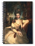 Frances Molesworth, Later Marchioness Spiral Notebook