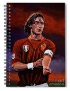 Francesco Totti Spiral Notebook