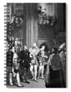 Francis I & Charles V Spiral Notebook