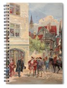 Francis I Received By Estienne Spiral Notebook