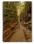 Franconia Notch Flume Gorge Boardwalk Spiral Notebook