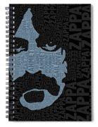 Frank Zappa  Spiral Notebook