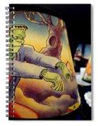 Franken Shade Spiral Notebook