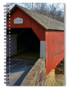 Frankenfield Covered Bridge Spiral Notebook