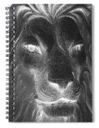 Frankie Lion Negative Spiral Notebook