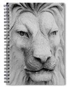 Frankie Lion Spiral Notebook