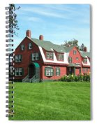 Franklin D. Roosevelts Beloved Island Campobello Spiral Notebook