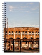 Franklin Field In The Morning Spiral Notebook