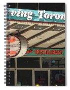 Fran's Restaurant  Toronto Diner Icon Spiral Notebook