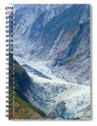 Franz Josef Glacier Spiral Notebook