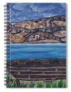 Fraser River British Columbia Spiral Notebook