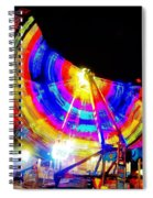 Freak Out ... Electric Rainbow Spiral Notebook