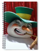 Freaky Frosty Spiral Notebook
