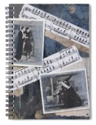 Fred And Ginger Collage Spiral Notebook