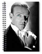 Fred Astaire Portrait Spiral Notebook