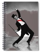 Fred Astaire Silk Stockings Publicity Photo 1957-2014 Spiral Notebook