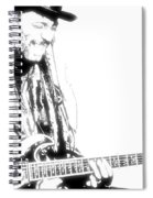 Freddy And His Guitar Spiral Notebook