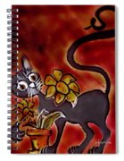 Freddy The Cat Spiral Notebook