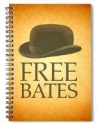 Free Bates Spiral Notebook