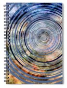 Free From Space And Time Spiral Notebook