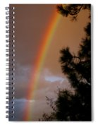 Free Rainbow 2 Spiral Notebook