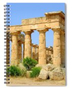 Free Standing Temple Spiral Notebook