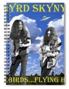 Freebirds Flying High Spiral Notebook