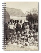 Freed Slaves, 1862 Spiral Notebook