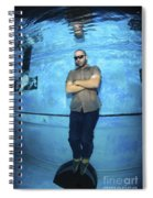 Freediver  Spiral Notebook