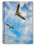 Freedom Impasto Spiral Notebook
