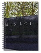 Freedom Is Not Free Spiral Notebook