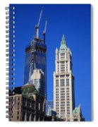 Freedom Tower And Woolworth Building Spiral Notebook