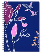 Freesia Spiral Notebook