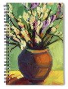 Freesias Spiral Notebook