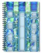 Freeze Warning Spiral Notebook