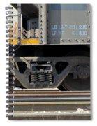 Freight Train Wheels 1 Spiral Notebook