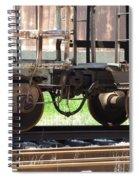 Freight Train Wheels 13 Spiral Notebook