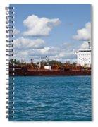 Freighter Spiral Notebook
