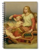 Freja Seeking Her Husband Spiral Notebook