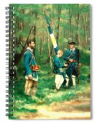 French And Indian War Spiral Notebook