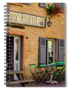 French Auberge Spiral Notebook