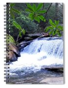French Broad River Waterfall Spiral Notebook