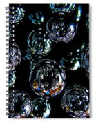 French Bubbles Spiral Notebook