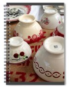 French Cafe Bowls Spiral Notebook