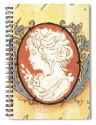 French Cameo 2 Spiral Notebook