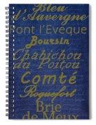 French Cheeses - 2 Spiral Notebook