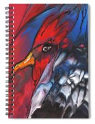 French Cokerel Spiral Notebook