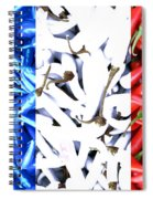 French Connection Spiral Notebook